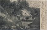 AK Grünwald Gaststätte Brunnwart Isartal bei München 1903 RAR