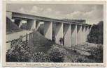 VERKAUFT !!!   AK Podelsatz-Brücke Reichsautobahn Dresden-Frankfurt a.M. bei Stadtroda Thüringen 1937 RAR