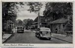 AK Gronau in Westfalen Glanerbrücke Restaurant Verspohl Deutsch-Holländische Grenze Autos 1937