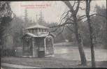 AK Sommerfrische Ebersdorf-Reuß Teichhäuschen im Fürstl. Park Saalburg bei Schleiz 1910