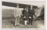 VERKAUFT !!!    AK Foto Nordbayerischer Verkehrsflug Passagiere mit Messerschmitt Fürth 1928