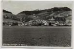 AK Foto Silberberg Srebrna Góra Stoszowice Eulengebirge Ortsansicht mit Festung Schlesien Polen 1937