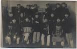 AK Foto Freiberg Gruppenfoto Soldaten Instrumente 1909