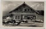 AK Foto Bregenz Pfänderspitz-Hütte mit Menschen Vorarlberg Österreich 1939