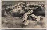 VERKAUFT !!!   AK Foto Flugzeug Arabo Ar 66 über den Wolken 1936