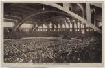 AK Dortmund Westfalenhalle Innenansicht viele Menschen 1933