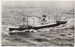 AK Foto MS Rijnkerk N. V. Vereenigde Nederlandsche Scheepvaartmaattschappij Schiffspost 1961