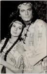AK Foto Karin Dor Pierre Brice Winnetou 2 1964