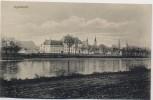 AK Ingolstadt Ortsansicht mit Donau 1915