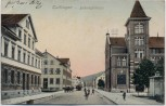AK Tuttlingen Bahnhofstrasse mit Menschen 1910 RAR