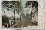 VERKAUFT !!!   AK Gruss aus Lauban Lubań Greiffenberger Chaussee Schlesien Polen 1901 RAR