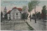 AK Nachterstedt Bahnhofstraße Seeland 1909 RAR