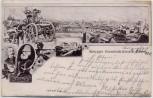 AK Essen Krupps Gussstahlfabrik Kanonen 1901