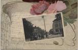 Präge-AK Passepartout Bielefeld Niedernthor 1903 RAR