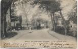 AK Gruss aus Nordleda Kampen Straßenansicht mit Menschen 1905 RAR