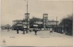 AK Leipzig Thüringer Bahnhof 1902 RAR