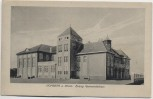 AK Homberg am Rhein Evang. Gemeindehaus Duisburg Feldpost 1916 RAR