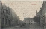 AK Garding in Schleswig-Holstein Osterstrasse mit Pferdekutsche 1900 RAR