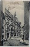AK Bremen Reisbörse Front an der Langenstrasse 1907