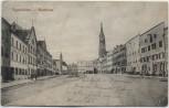 AK Eggenfelden Stadtplatz mit Brunnen 1910