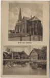 AK Gruß aus Uthlede Kirche Gasthof bei Hagen im Bremischen 1930