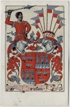 AK Zwickau 800 Jahre Jubiläumsfeier Wappen Feldpost 1942