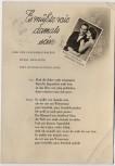 AK Liedkarte Sonja Siewert Herbert Klein Es müßte wie damals sein 1957