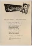 AK Liedkarte Klaus Gross Marana Beguine 1957