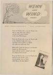 AK Liedkarte Paul Schröder Wenn der Wind weht 1957