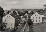 AK Foto Colmnitz Eisenbahnbrücke bei Klingenberg Sachsen 1983