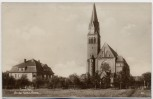 AK Foto Sorau Żary An der Katholischen Kirche Niederlausitz Ostbrandenburg Polen 1930 RAR