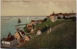 AK Meersburg am Bodensee Ortsansicht mit Hafenpartie 1910