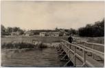 AK Foto Bellin Urlauberdorf Industrietextilien am Kleinen Haff bei Ueckermünde 1967