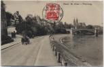 AK Basel St. Alban Rheinweg Schweiz 1914