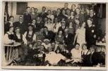 AK Foto Bad Wörishofen Gruppenfoto Fasching im Restaurant zum Tannenbaum 1936 RAR