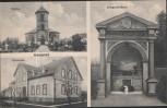 VERKAUFT !!!         AK Gesmold Kirche Pfarrhaus Kriegerdenkmal b. Melle 1910 RAR Sammlerstück