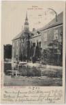 AK Gruss aus Gödens Schloss Ansicht vom Park Sande Friesland 1903