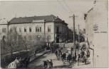 AK Foto Petrozsény Petroșani Petroschen Ortsansicht mit Soldaten Siebenbürgen Rumänien 1915 RAR