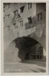 AK Foto Wien XIX. Marx Hof Tor Februaraufstand Einschüsse Österreich 1934