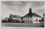 AK Foto Dašice Daschitz Marktplatz mit Auto bei Pardubice Böhmen Tschechien 1939 RAR