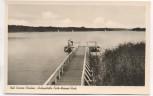 AK Bad Saarow-Pieskow Anlegestelle Erich-Weinert-Park 1956