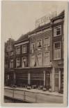AK Delft Hotel Centraal Cafe Restaurant Südholland Niederlande 1939