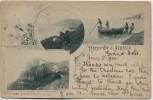 AK Ricordo di Alassio Ligurien Italien 1900