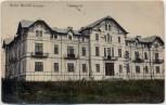 AK Techirghiol Hotel Movila Constanța Rumänien 1910
