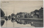 AK Hoofdvaart Assen Drente Niederlande 1908