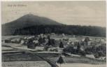 AK Gruß aus Wolfsberg bei Krásná Lípa Schönlinde Böhmen Tschechien 1911