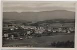 AK Foto Kötzting mit Hohenbogen Ortsansicht Oberpfalz 1930