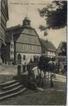 AK Homberg (Efze) Rathaus und Kriegerdenkmal 1912