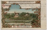 Künstler-AK Grimma Die Gattersburgen Gattersburg 1901