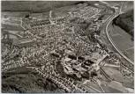 AK Foto Oberkochen Ortsansicht Luftbild Fliegeraufnahme 1970